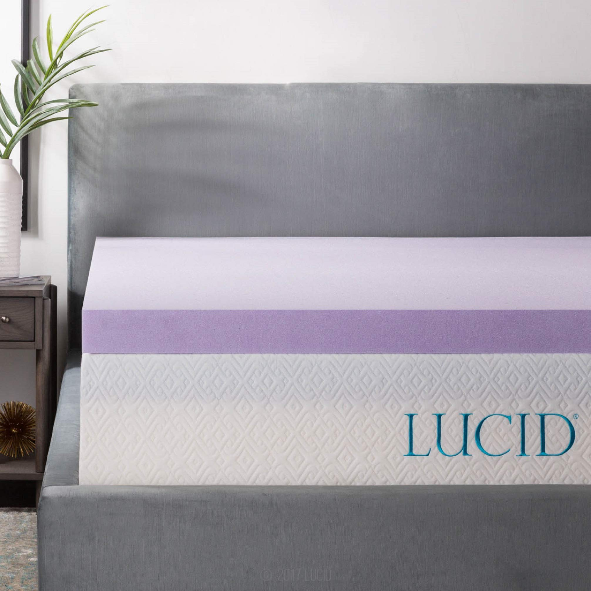 LUCID Lavender Infused Memory Mattress