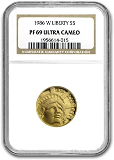 Best 1986 statue of liberty 5 gold coin Reviews