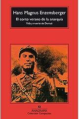 El corto verano de la anarquía (Compactos nº 274) (Spanish Edition) Kindle Edition