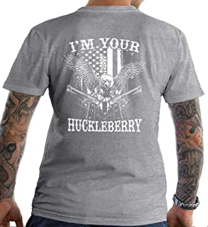 Sons Of Liberty I am Your Huckleberry. T-Shirt. Made in USA