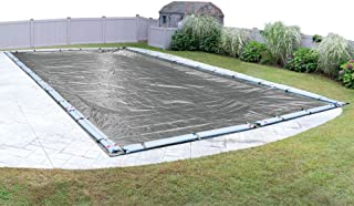 Pool Mate 331840R-PM Platinum Silver Winter Pool Cover for In-Ground Swimming Pools, 18 x 40-ft. In-Ground Pool