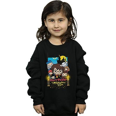 HARRY POTTER niñas Philosopher's Stone Junior Camisa De Entrenamiento 9-11 Years Negro