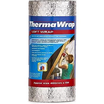 pack de 1 ThermaWrap 400mm x 5m x 3.7mm Accesorio para el aislamiento del hogar