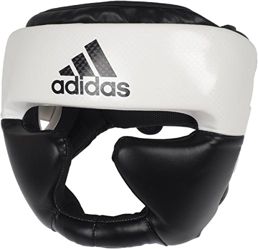 Adidas - Casque combat blc noir - Casque de boxe