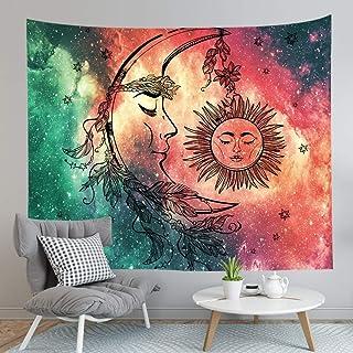 Tapiz de tela Mandala/Tarot/Paisaje/Mapa Imprimir Arte Decoración Tapices colgantes de pared para sala de estar Dormitorio...