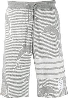 Thom Browne Luxury Fashion Mens MJQ052A06222055 Grey Shorts | Spring Summer 20