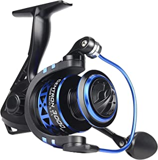 KastKing Summer and Centron Spinning Reels, 9 +1 BB Light Weight, Ultra Smooth Powerful, Size 500...