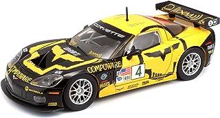 Bburago Chevrolet Corvette C6R Scale 1:24 Diecast Car - Multi Color