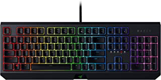 Razer BlackWidow Mechanical Gaming Keyboard: Green Mechanical Switches - Tactile & Clicky - Chroma RGB Lighting - Anti-Gho...