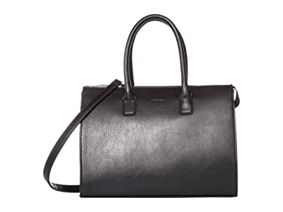 Matt & Nat Dwell (Black) Satchel Handbags