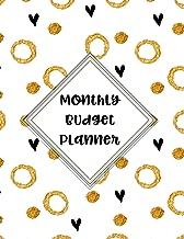 Monthly Budget Planner: Budget Planning, Weekly Expense Tracker Bill Organizer Notebook Business Money Personal Finance Journal Planning Workbook