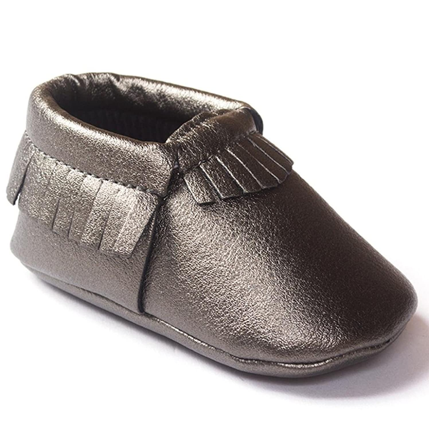 Voberry Toddler Baby Girls Boy's Sneaker Tassels Moccasins Anti-slip Soft Sole Shoes