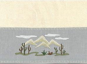 Avanti Linens Cactus Landscape Bath Towel, Ivory