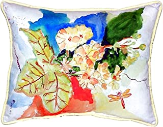 "Betsy Drake SN939 Primrose Small Indoor/Outdoor Pillow, 11"" x14"""