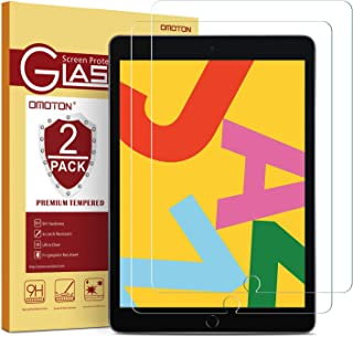 [2 Pack] OMOTON Screen Protector for iPad 7th Generation (10.2 Inch, iPad 7, 2019) / iPad..