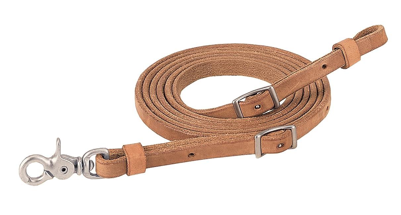 Weaver Leather ProTack Roper Rein, 1/2-Inch x 8-Feet, Brown