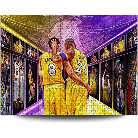 CAPTIVATE HEART ko-be Bryant Jigsaw Puzzle Wooden Puzzle 300 Pieces Jigsaw Intellectual Toys Funny Picture//Basketball.