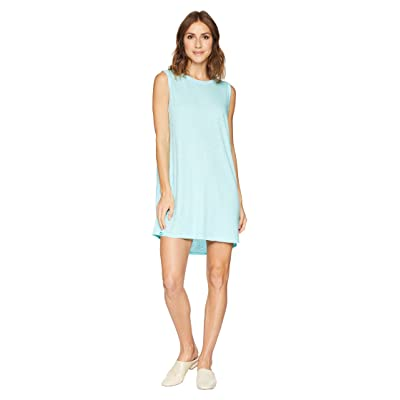 Allen Allen Short Tank Top Dress (Aquamarine) Women