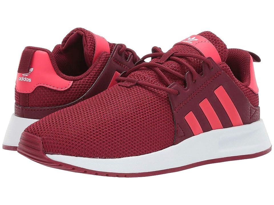 adidas Originals Kids X_PLR C (Little Kid) (Burgundy/Shock Red/White) Kids Shoes