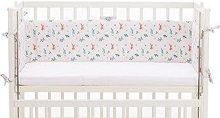 Fillikid Nestchen Exclusiv | Babynestchen für Beistellbett, Babybett, Kinderbett & Stubenwagen - Weiche Bettumrandung Länge ca.165x26 cm, Babybettumrandung ideal für Vario und Cocon