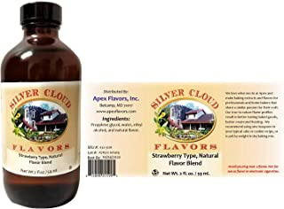 Strawberry Type Extract, Natural Flavor Blend - 2 fl. oz. bottle
