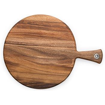 Ironwood Gourmet 28116 Round Provencale Paddle Round, Acacia Wood