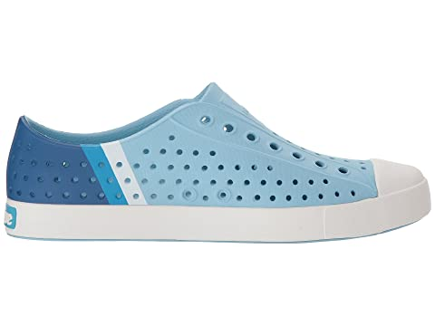 Gradient Jefferson Zapatos White nativos Sky Block Shell Blue nqHAzYH1