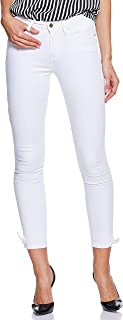 Tommy Hilfiger Women's Ww0Ww22285-White Tommy Hilfiger Skinny Jeans for Women - White