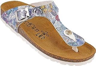 012-355 Biochic Girls Sandals Material4 Multi