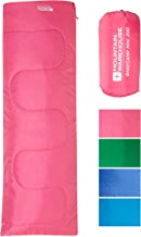 Mountain Warehouse Basecamp 200 Mini Sleeping Bag - 160 * 65cm, Easy Care Kids Camping Gear, Easy To Pack Travel Sleep Essential, Insulated - Great For Kids