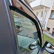 J J Automotive Windabweiser Regenabweiser Für C4 Picasso Grand Picasso 5 Türer 2006 2013 2tlg Heko Dunkel Auto