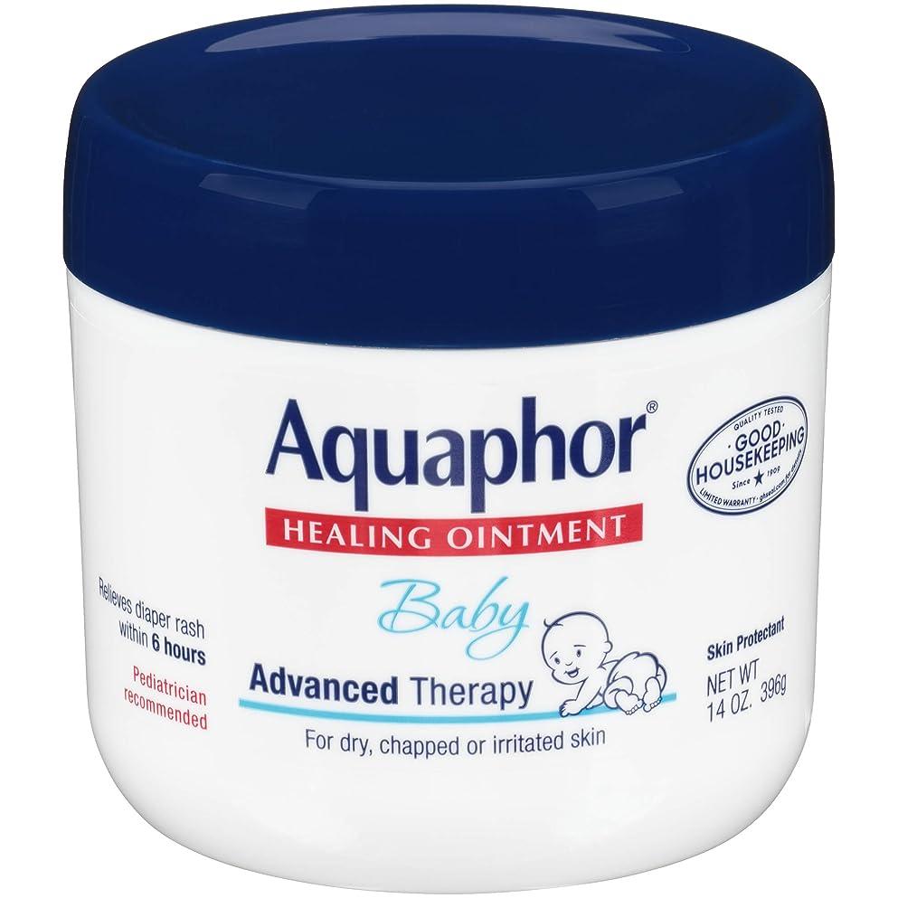 義務的悪の満員Aquaphor Baby Healing Ointment Advanced Therapy Skin Protectant