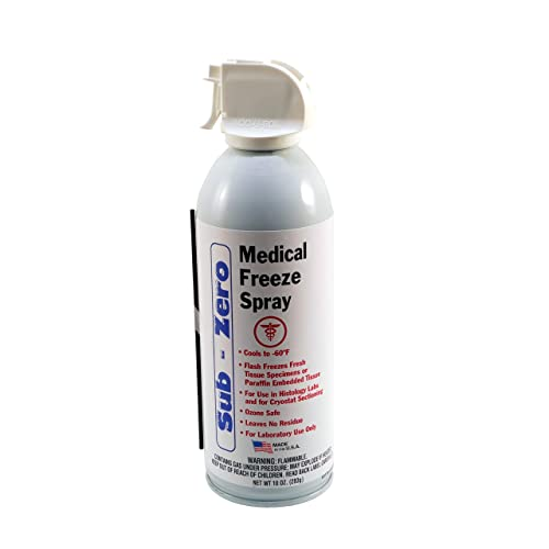 new style 54984 0c812 Max Professional Sub Zero Medical Freeze Spray - 10 Ounce Unit - Superior  R152a Refrigerant