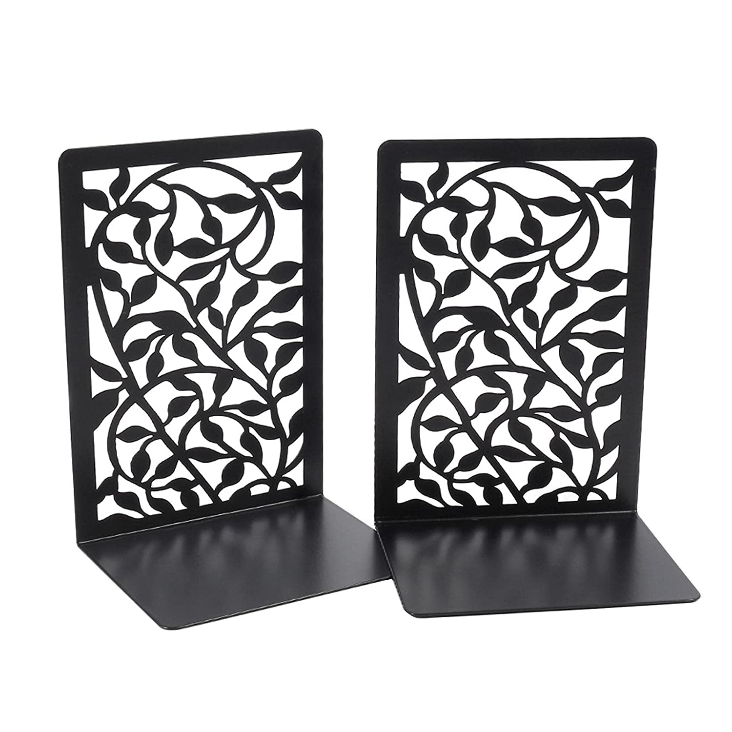 Max 70% OFF Metal Bookends Decorative Book Black Supports Sale SALE% OFF Ends No