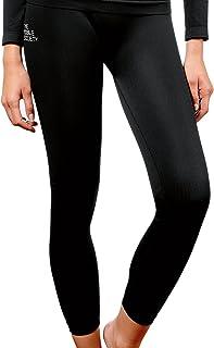 THE MOBILE SOCIETY leggings Donna Intimo Sportivo Traspirante Senza Cuciture Seamless Made in Italy