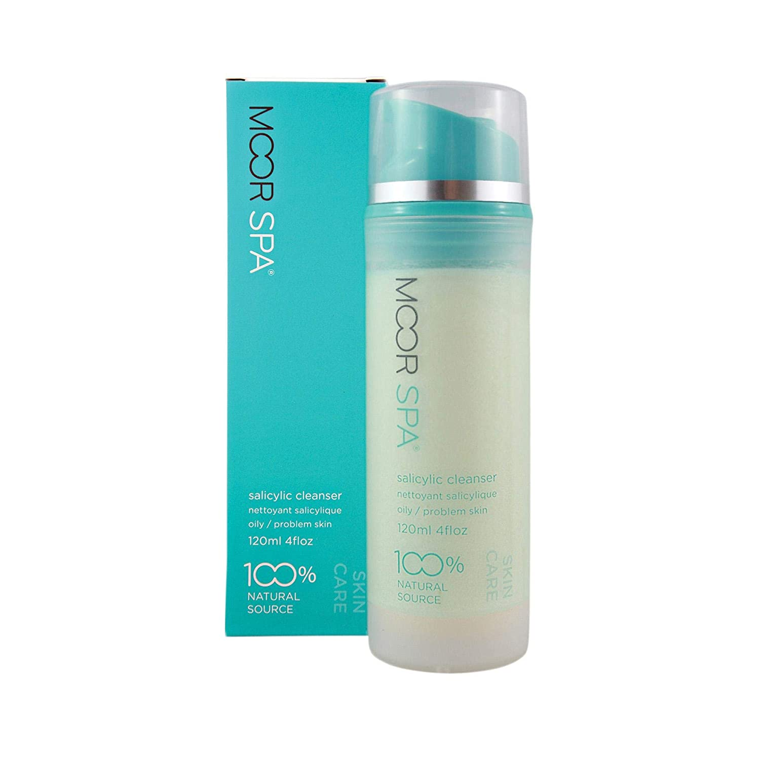 Moor Spa Chicago Mall Salicylic Facial Ounce Fluid Cleanser Dealing full price reduction 4