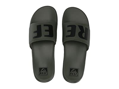 Reef One Slide (Olive) Men