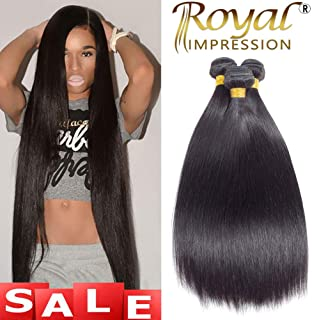 10A Brazilian Virgin Straight Hair 3 Bundles 14