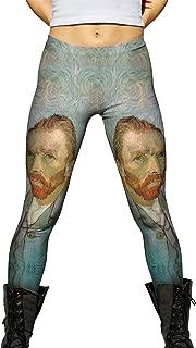 Vincent Van Gogh - Self Portrait (1889) -New Ladies Womens Leggings