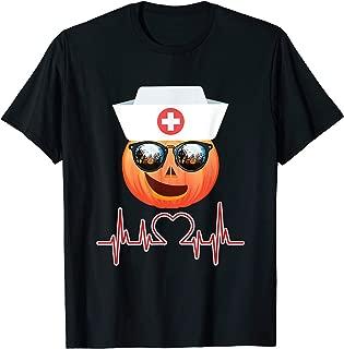 Nurse Emoji Halloween New cloth smiling face with Halloween T-Shirt