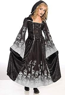 Bristol Novelty- CC190, Costume de Princesse des Esprits, 11–12Ans, Blanc, Large, 134-146 cm