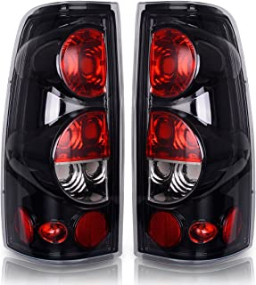 Taillights Tail Lamps for Chevy Chevrolet Silverado 1500 2500 3500 1999-2006 & 2007 with Classic Body Style, GMC Sierra 1500 2500 3500 1999-2002 (Does Not Fit Barn Door/Sidestep Models) ATTL2001
