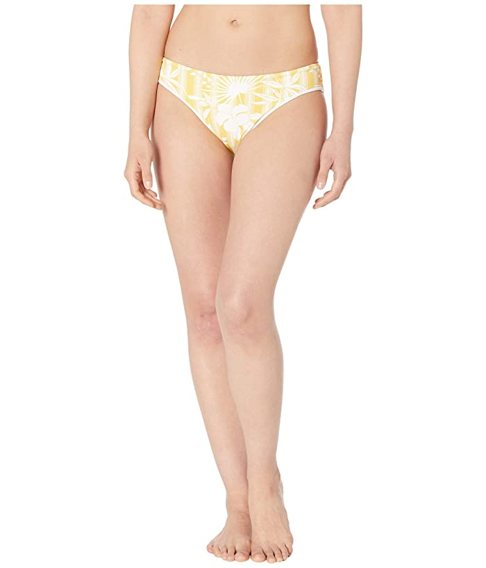 Carve Designs St. Barth Reversible Bikini Bottoms (Largo/White) Women