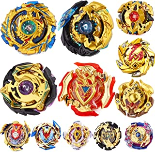 BEUTEESER Gyros Battling Top Battle Burst High Performance Set, Birthday Party School Gift Idea Toys for Boys Kids Children Age 8+, 12 Pieces Pack