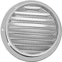 Ventilatiegatplaat 1 stks Roestvrijstalen buitenkant Muur Air Vent Grille Ronde Ducting Ventilation Grilles Afzuiging (Col...