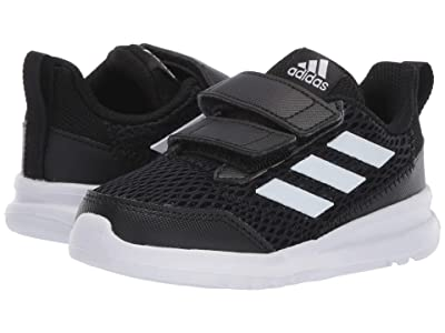 adidas Kids AltaRun CF (Toddler) (Core Black/Footwear White/Core Black) Boys Shoes