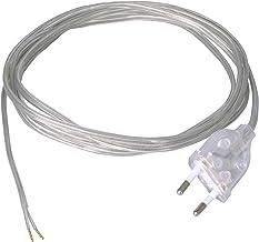 2X0,75MM2 Tibelec 121550 C/âble /électrique Plat Translucide