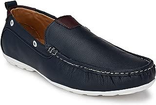 LAWMAN PG3 Men's Loafer Shoes, Color: Navy