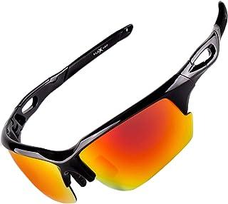 Polarized Sports Sunglasses for Men & Women. Ultra Tough...