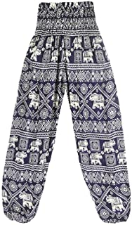 Coolred Women Holiday High Waisted Maxi Yoga Pant Boho Loose Harem Pants